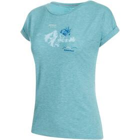 Mammut Mountain - T-shirt manches courtes Femme - bleu